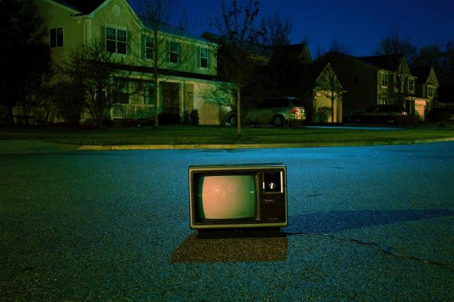 TV on Street